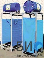 Душевая кабина с баком на 200 литров